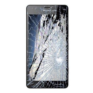 Microsoft Lumia 950 LCD & Touchscreen Reparatie Zwart