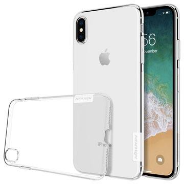 Nillkin Nature 0.6mm iPhone XS Max TPU Hoesje Doorzichtig