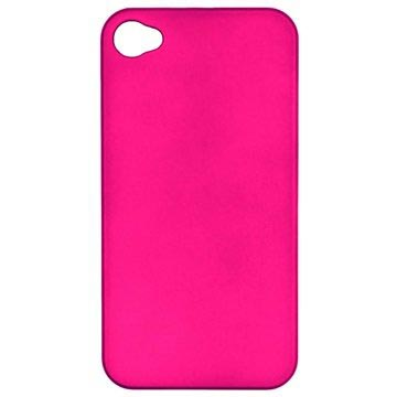 iPhone 4-4S Njord Bekleed Hard Cover Roze