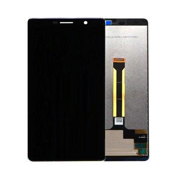 Nokia 7 Plus LCD Display 20B2N0W0001 - Zwart