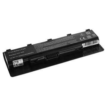 OTB Laptop Accu Asus N46, N56, N76, R401, R501, R701 5200mAh