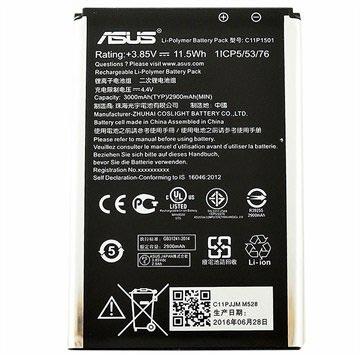 Asus C11P1501 Batterij Zenfone Selfie, Zenfone 2 Laser ZE601KL, ZE550KL 2900mAh
