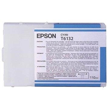 Epson T6132 Inktcartridge - Stylus Pro 4000, Pro 4400, Pro 4450 - Cyan