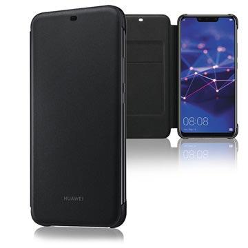 Huawei Mate 20 Lite Wallet Cover 51992567 Zwart