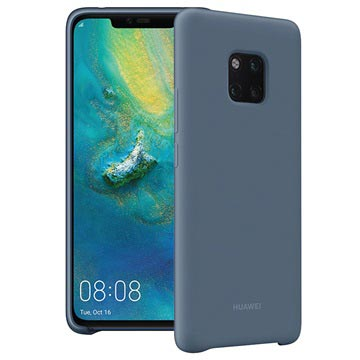 Huawei Mate 20 Pro Silicon Protective Case Blauw voor Mate 20 Pro