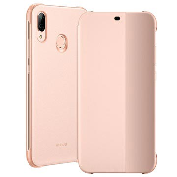 Huawei P20 Lite Smart View Flip Cover 51992315 Roze