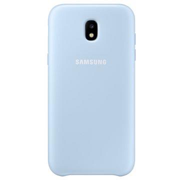Samsung Galaxy J5 (2017) Dual Layer Cover blauw