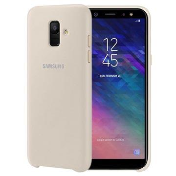 Samsung Galaxy A6 (2018) Dual Layer Cover EF-PA600CFEGWW Goud
