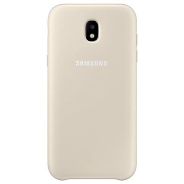 Samsung Case Dual Layer voor Galaxy J7 2017 (goud)