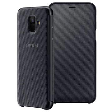 Samsung Galaxy A6 (2018) Wallet Cover EF-WA600CBEGWW Zwart