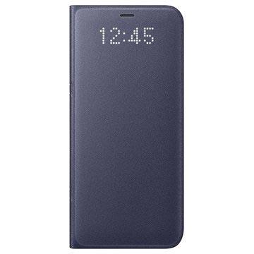 Samsung Galaxy S8 LED Flip Wallet Case EF-NG950PV Lilla