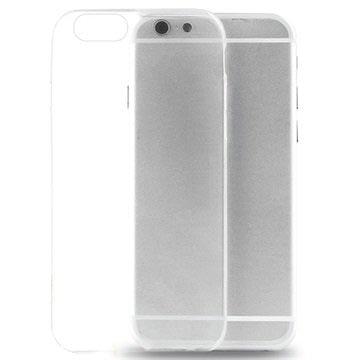 iPhone 6-6S Puro 0.3 Ultra Slim Nude Siliconen Hoesje Doorzichtig