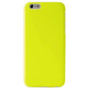 PURO Puro iPhone 6 UltraSlim 0.3 mm Cover With Screenprotector Yellow (IPC64703GRN)