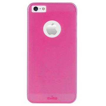iPhone 5-5S-SE Puro Rainbow Hard Cover Roze