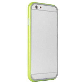 PURO Puro iPhone 6 Bumber Case With Screenprotector Green (IPC647BUMPERGRN)