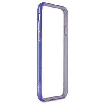 PURO Puro iPhone 6 Bumber Case With Screenprotector Blue (IPC647BUMPERBLUE)