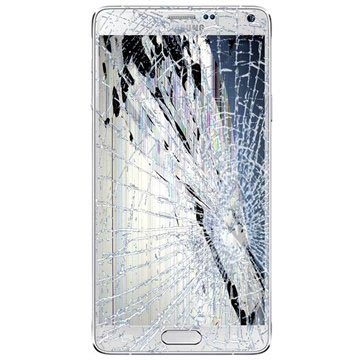Samsung Galaxy Note 4 LCD & Touchscreen Reparatie Wit