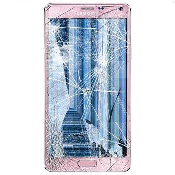 Samsung Galaxy Note 4 LCD & Touchscreen Reparatie Roze