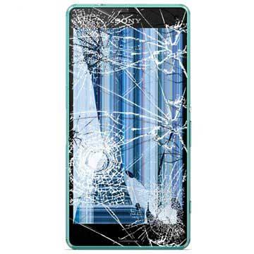 Sony Xperia Z3 Compact LCD & Touchscreen Reparatie Groen