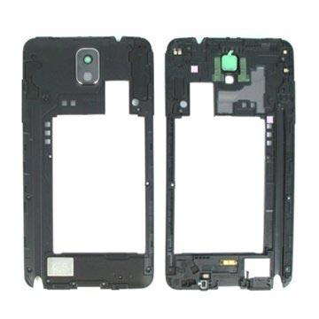 Samsung Galaxy Note 3 N9005 Middenbehuizing Zwart