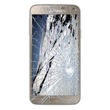 Samsung Galaxy S5 Neo LCD & Touchscreen Reparatie Goud