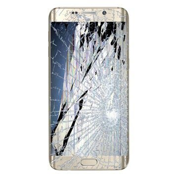 Samsung Galaxy S6 Edge+ LCD & Touchscreen Reparatie Goud