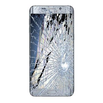 Samsung Galaxy S6 Edge+ LCD & Touchscreen Reparatie Zilver