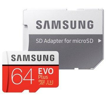 Samsung microSDXC EVO+ 64GB met adapter MB-MC64GA-EU