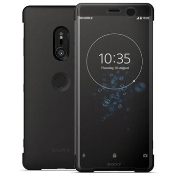Sony Xperia XZ3 Style Cover Touch SCTH70 Zwart