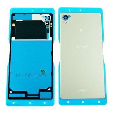 Sony Xperia M4 Aqua Batterij Cover Zilver