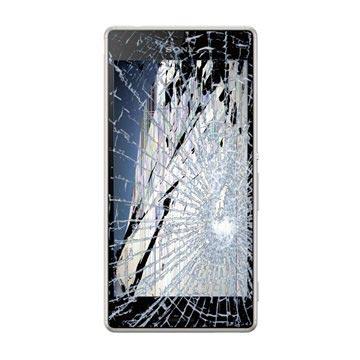 Sony Xperia M4 Aqua LCD & Front Cover Reparatie Zilver