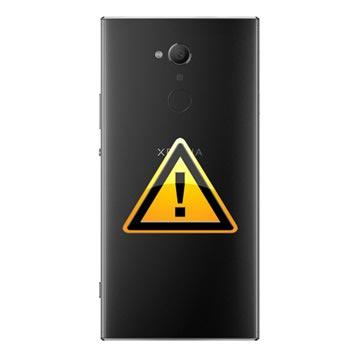 Sony Xperia XA2 Ultra Batterij Cover Reparatie - Zwart