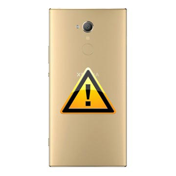 Sony Xperia XA2 Ultra Batterij Cover Reparatie - Goud