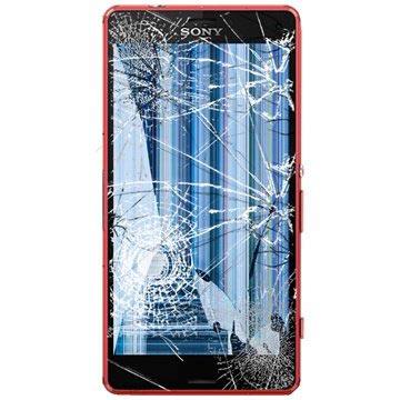 Sony Xperia Z3 Compact LCD & Touchscreen Reparatie Oranje