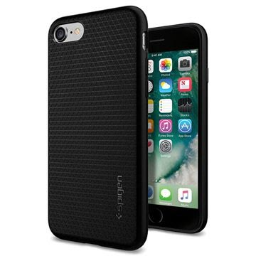 Spigen Liquid Armor Apple iPhone 7 Case 042CS20511 Black voor iPhone 7