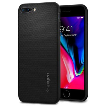 Spigen Liquid Armor Apple iPhone 7 Plus Case 043CS20525 Black voor iPhone 7 Plus