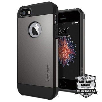 Spigen iPhone Backcover Geschikt voor model (GSM's): Apple iPhone 5, Apple iPhone 5S, Apple iPhone S