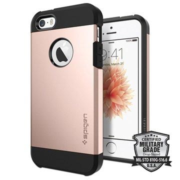Spigen Tough Armor Apple iPhone 5-5S-5SE Rose Gold