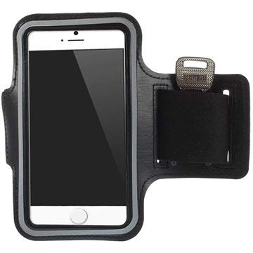iPhone 6-6S Sport Gym Armband Zwart