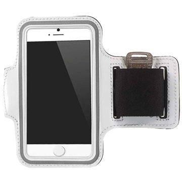 iPhone 6-6S Sport Gym Armband Wit
