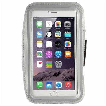 iPhone 6 Plus-6S Plus Sport Gym Armband Grijs