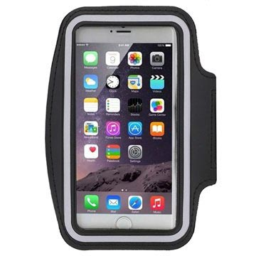 iPhone 6 Plus-6S Plus Sport Gym Armband Zwart