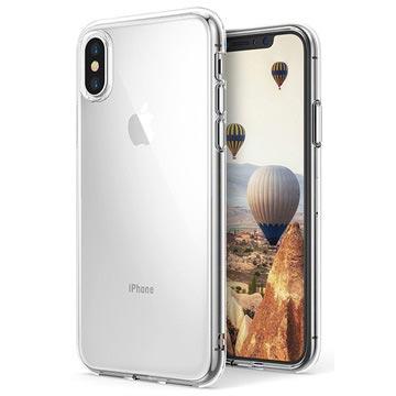 iPhone X Ultra Slim Pro Siliconen Hoesje Doorzichtig