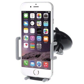 Universele Multifunctionele Mobiele Telefoon Autohouder Grijs