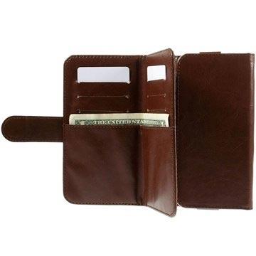Universele Wallet Hoesje Bruin