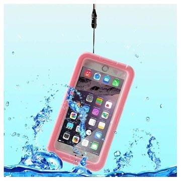 iPhone 6 Plus-6S Plus Waterdichte Case Roze