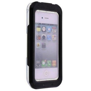 Waterbestendig Case iPhone 4-4S, iPhone 5-5S-SE Zwart