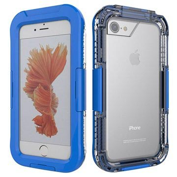 iPhone 7 Waterdicht Hoesje Donkerblauw