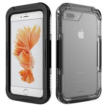 iPhone 7 Plus Waterdicht Hoesje Zwart