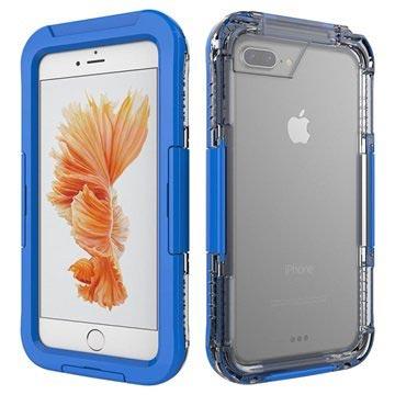 iPhone 7 Plus Waterdicht Hoesje Donkerblauw